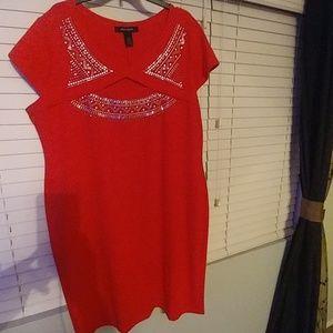 Ashely Stewart Red dress 22/24